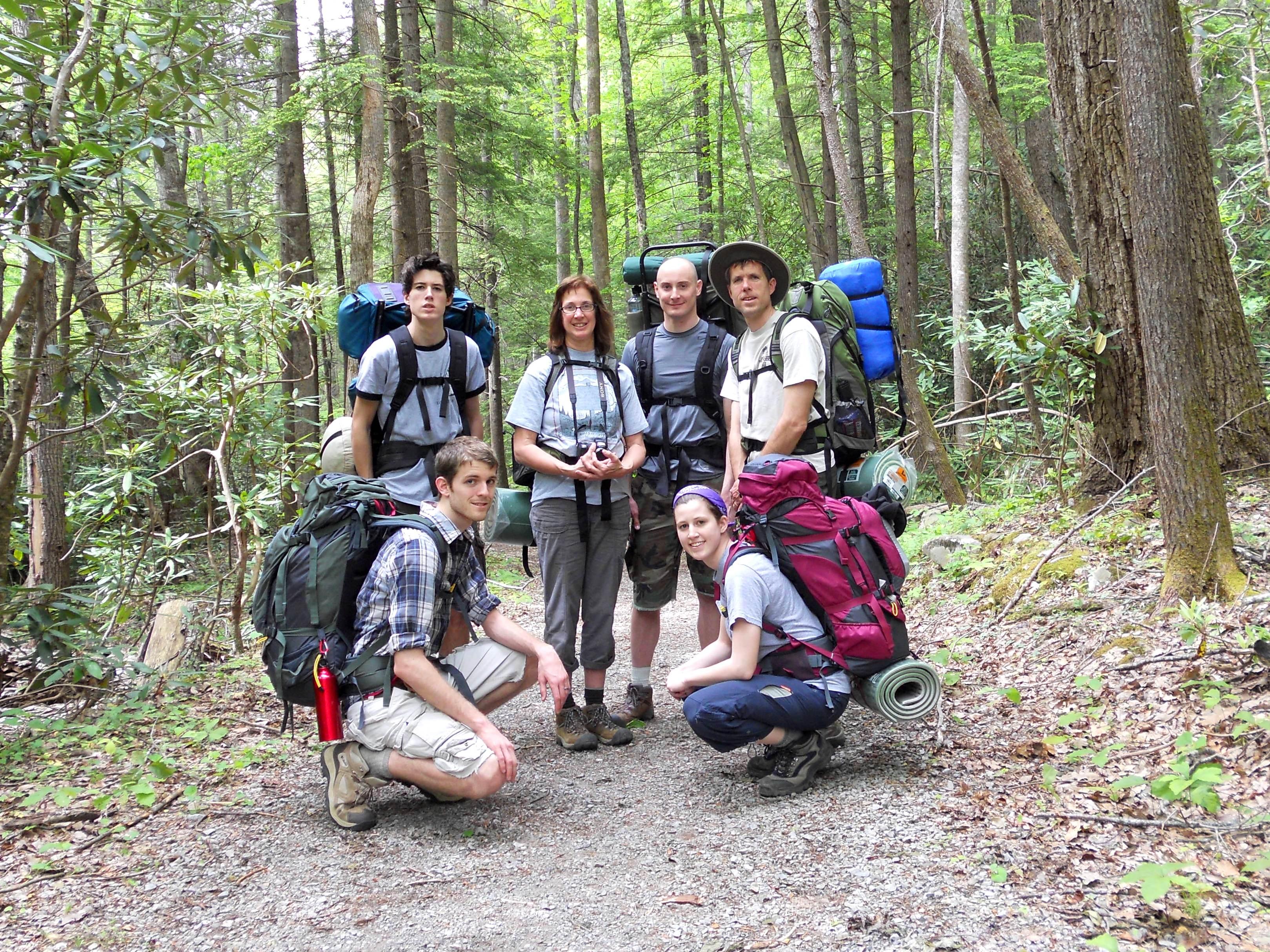 Smoky Mountain Backpacking Trip Part 1 Matt And Allison